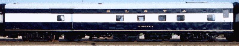 Frisco 1522 Passenger Cars